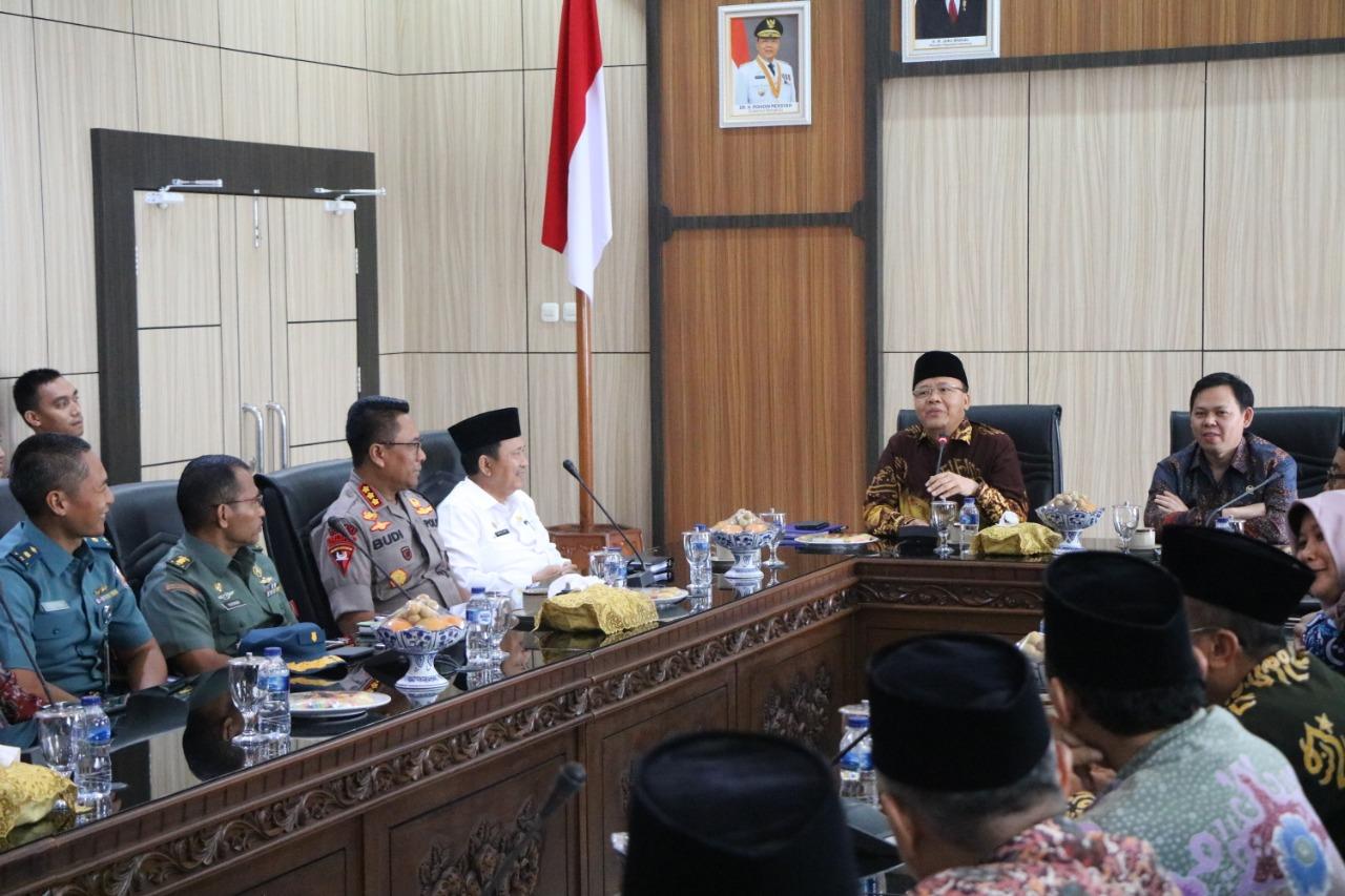 Wakapolda Bengkulu Hadiri Raker Sambut Kunker Wakil Ketua DPD RI