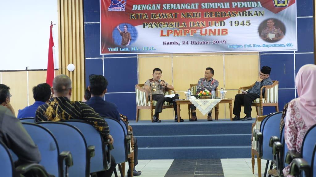 """Kapolda Bengkulu Jadi Narasumber Dialog Kebangsaan """"Sumpah Pemuda"""""""