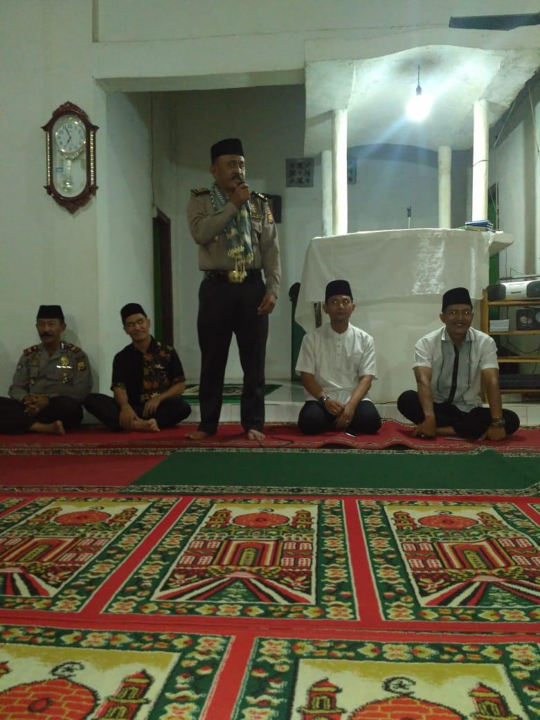 Tim Safari Masjid Polres Lebong Gelar Kegiatan di Masjid Al-Huda