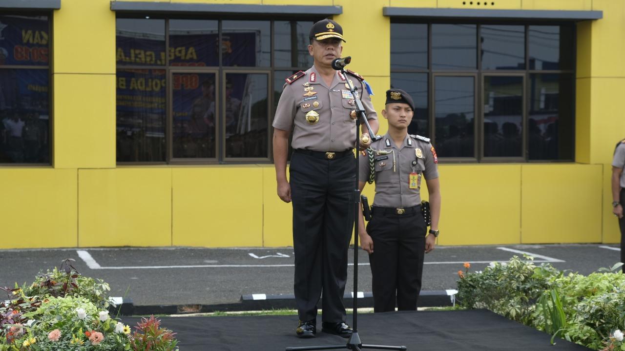 Kapolda Bengkulu; Tingkatkan Kemampuan Agar Siap Memberikan Pelayanan Kepolisian