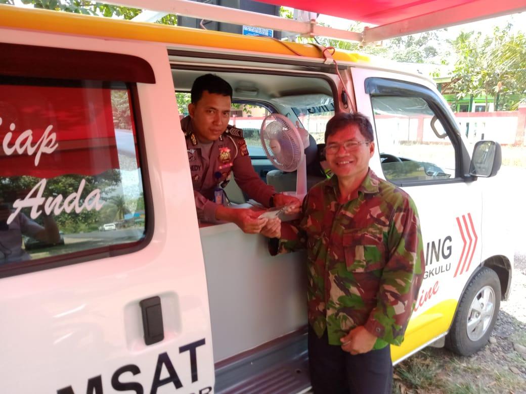 Maksimalkan Pelayanan, Polres Seluma Kembali Gelar Samsat Keliling
