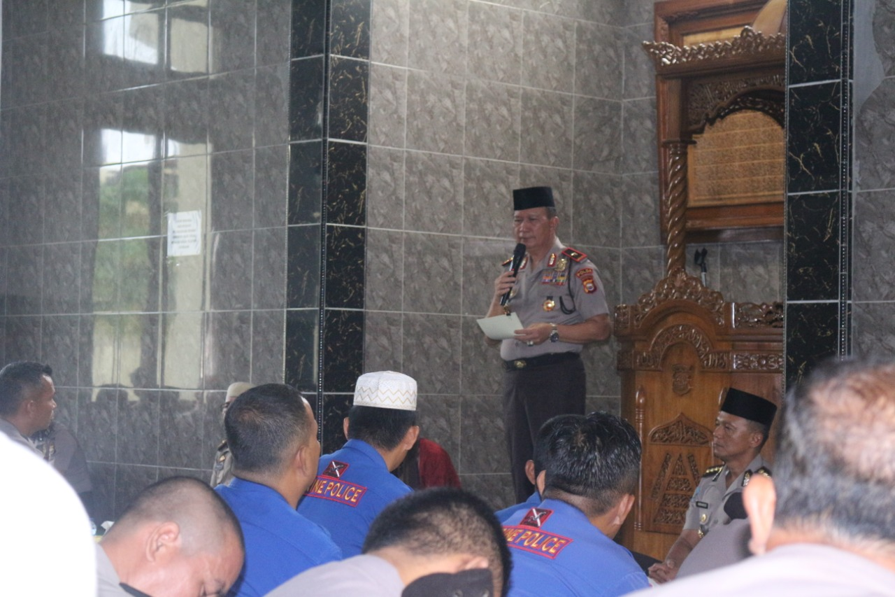Polda Bengkulu Peringati Maulid Nabi Muhammad SAW 1441 H