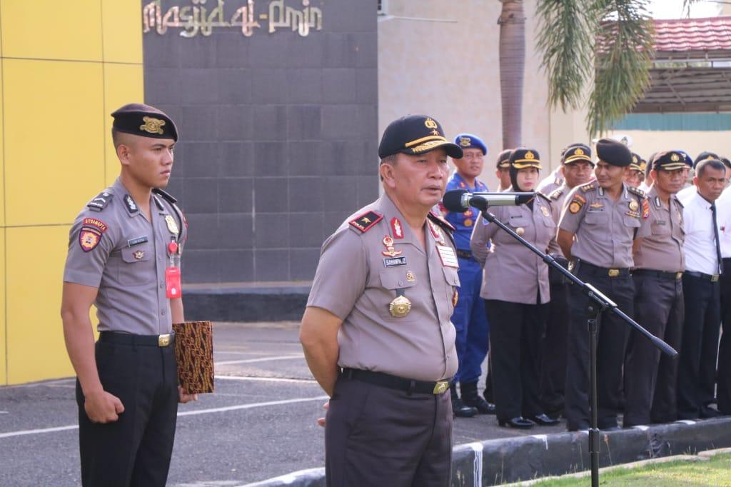 Wakapolda Bengkulu Ingatkan Anggota Polres Benteng Agar Mempersiapkan Diri