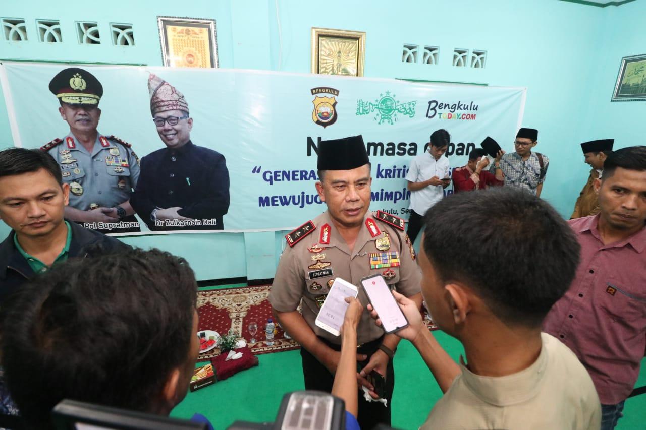 """Kapolda Bengkulu Jadi Narasumber """" Ngaji Masa Depan """""""