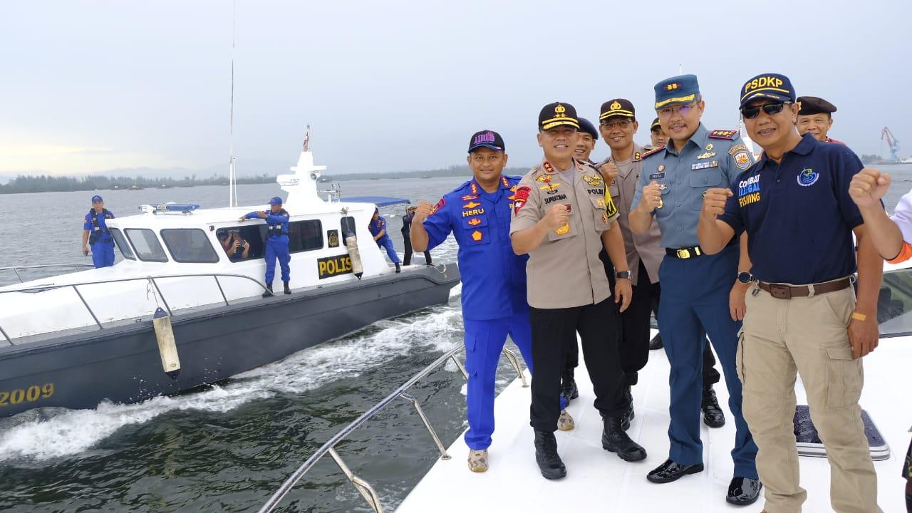 Danlanal Bengkulu; Patroli Bersama, Mewujudkan Sinergi TNI/POLRI