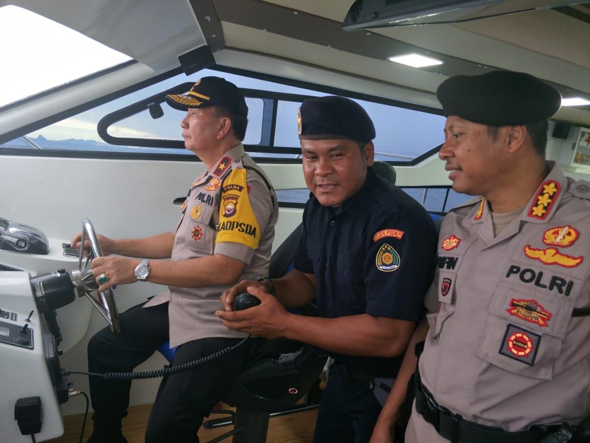 Patroli Perairan TNI/POLRI, Wakapolda Nahkodai Kapal