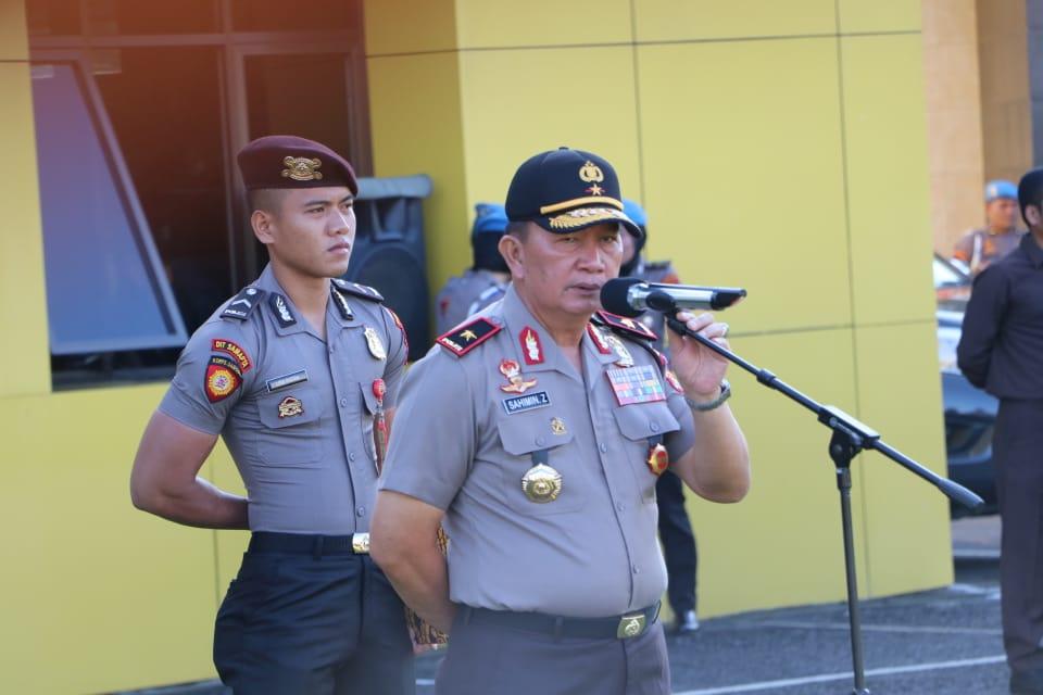 Wakapolda Bengkulu; Selamat Tahun Baru dan Terimakasih Tugas Pengamanan Berhasil