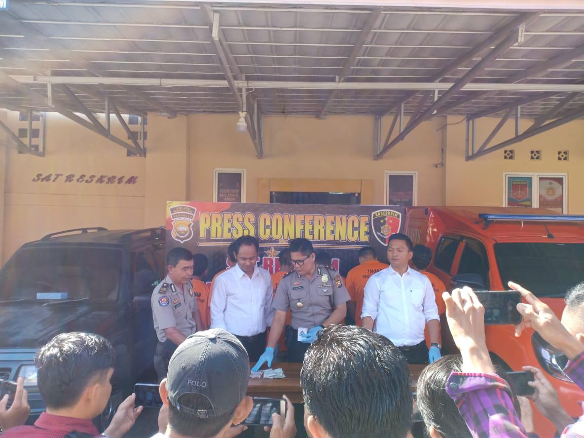Sat Reskrim Polres Bengkulu Utara telah mengamankan Pelaku Tindak Pidana Perjudian.
