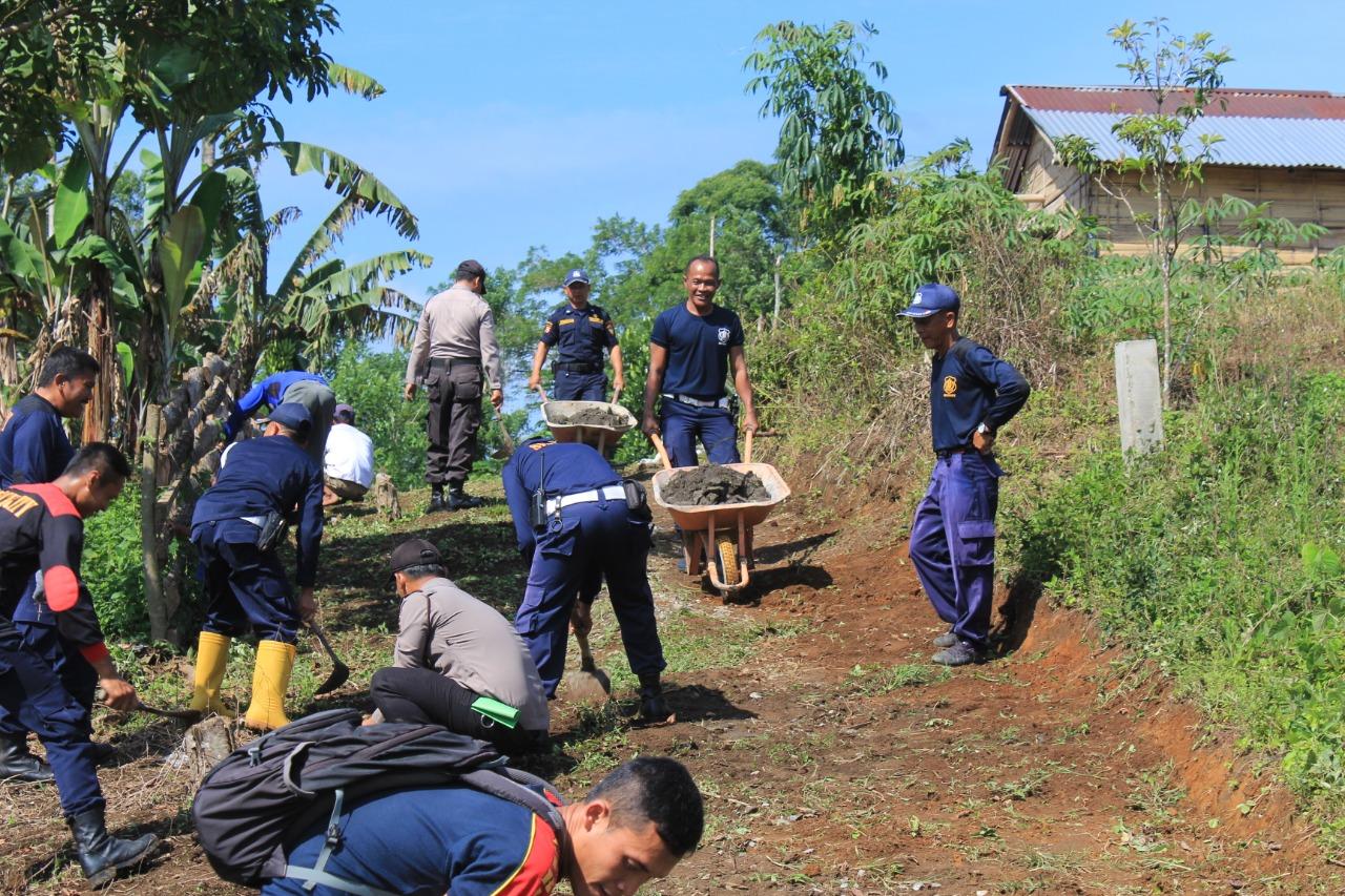 Puluhan Satpam se-Kabupaten Kepahiang Datangi Panti Asuhan Al-Khafi