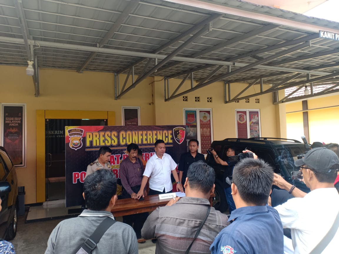 Sat Reskrim Polres Bengkulu Utara telah mengamankan Pelaku Tindak Pidana Korupsi.