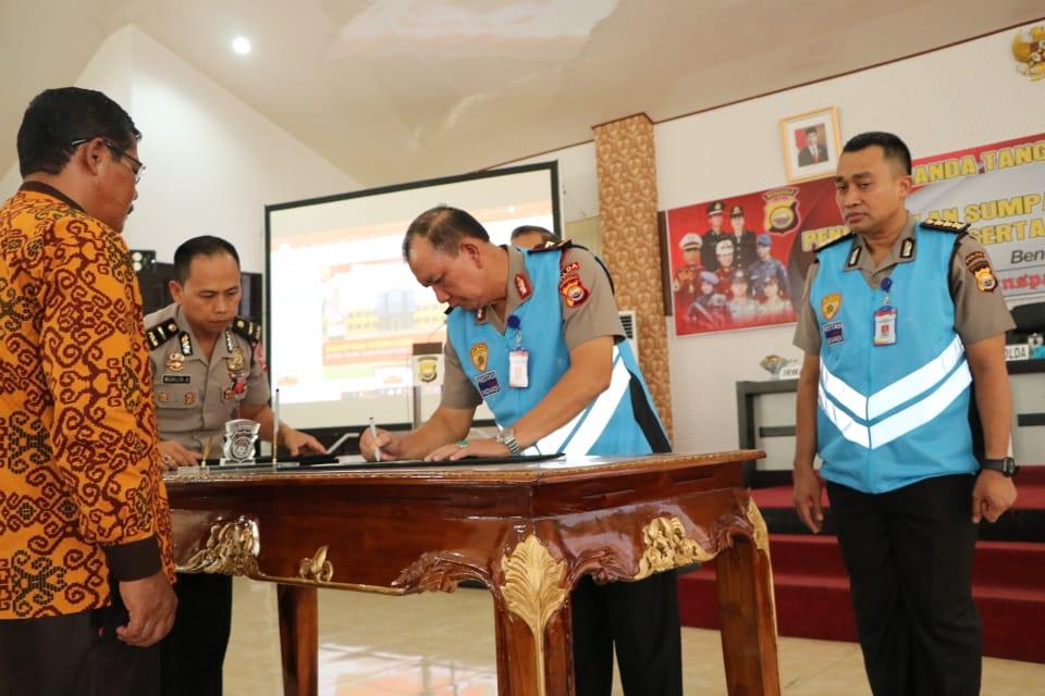 "Gelar Pakta Integritas SIPSS T.A 2020, Polda Bengkulu Serius Usung Prinsis ""BETAH"""