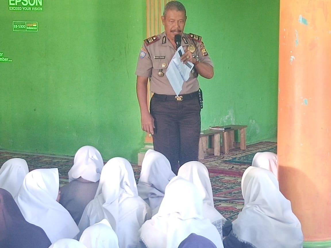 Binluh di Ponpes Al-Munawaroh, Kasat Binmas Kepahiang Bahas Kiat Cegah Radikalisme