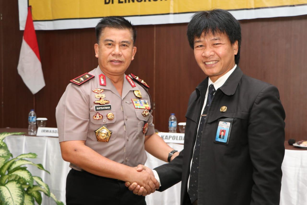 Polda dan BPKP Prov Bengkulu Teken MOU Kerjasama Peningkatan Tata Kelola Pemerintahan