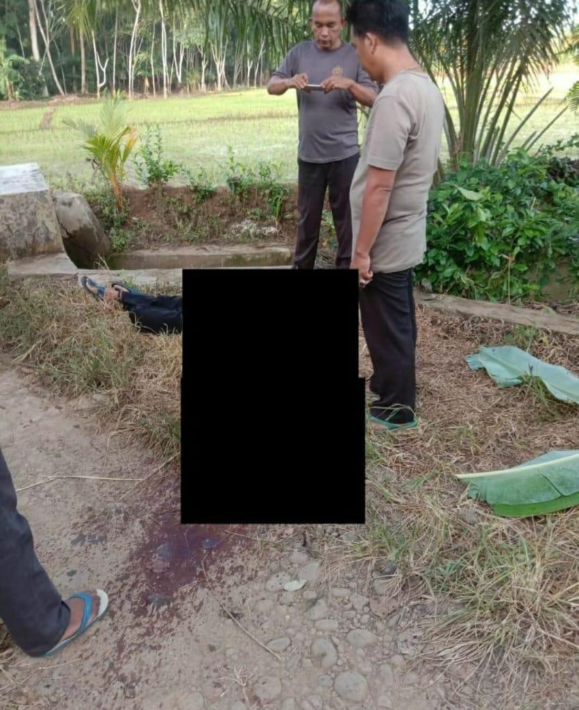 Polisi Selidiki Penemuan Mayat Diduga Korban Pembunuhan Di Desa Sri Kuncoro-BENTENG