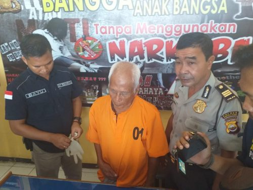 Gunakan Ganja, Kakek 72 TH Ditangkap Polisi