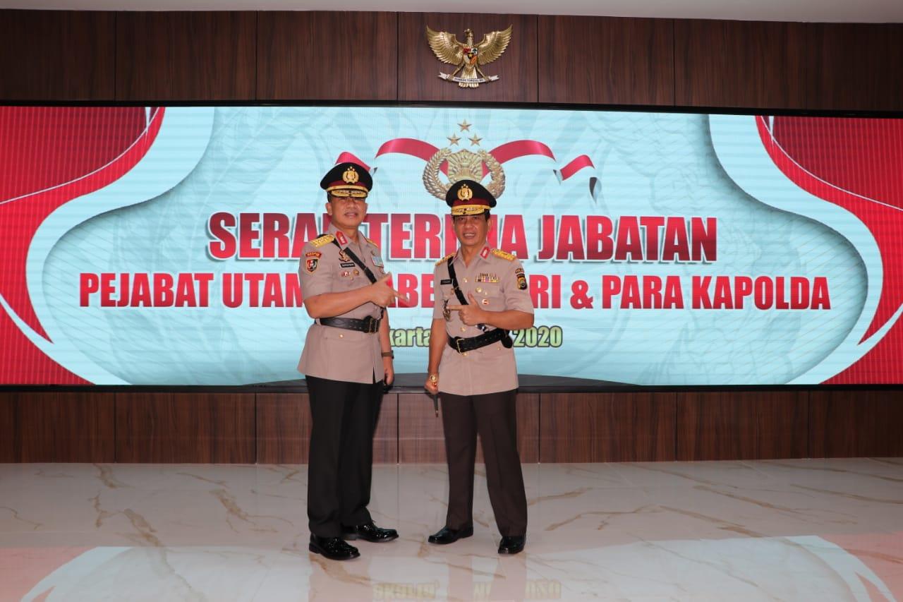 Resmi Berganti, Kapolda Bengkulu Dijabat Brigjen Pol Drs Teguh Sarwono, M.Si,
