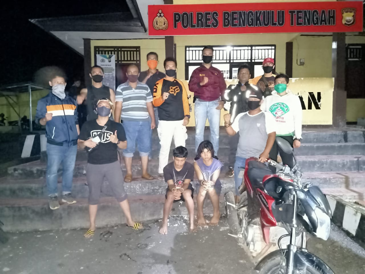 Polres Benteng Tangkap 2 Pelaku Pembunuhan
