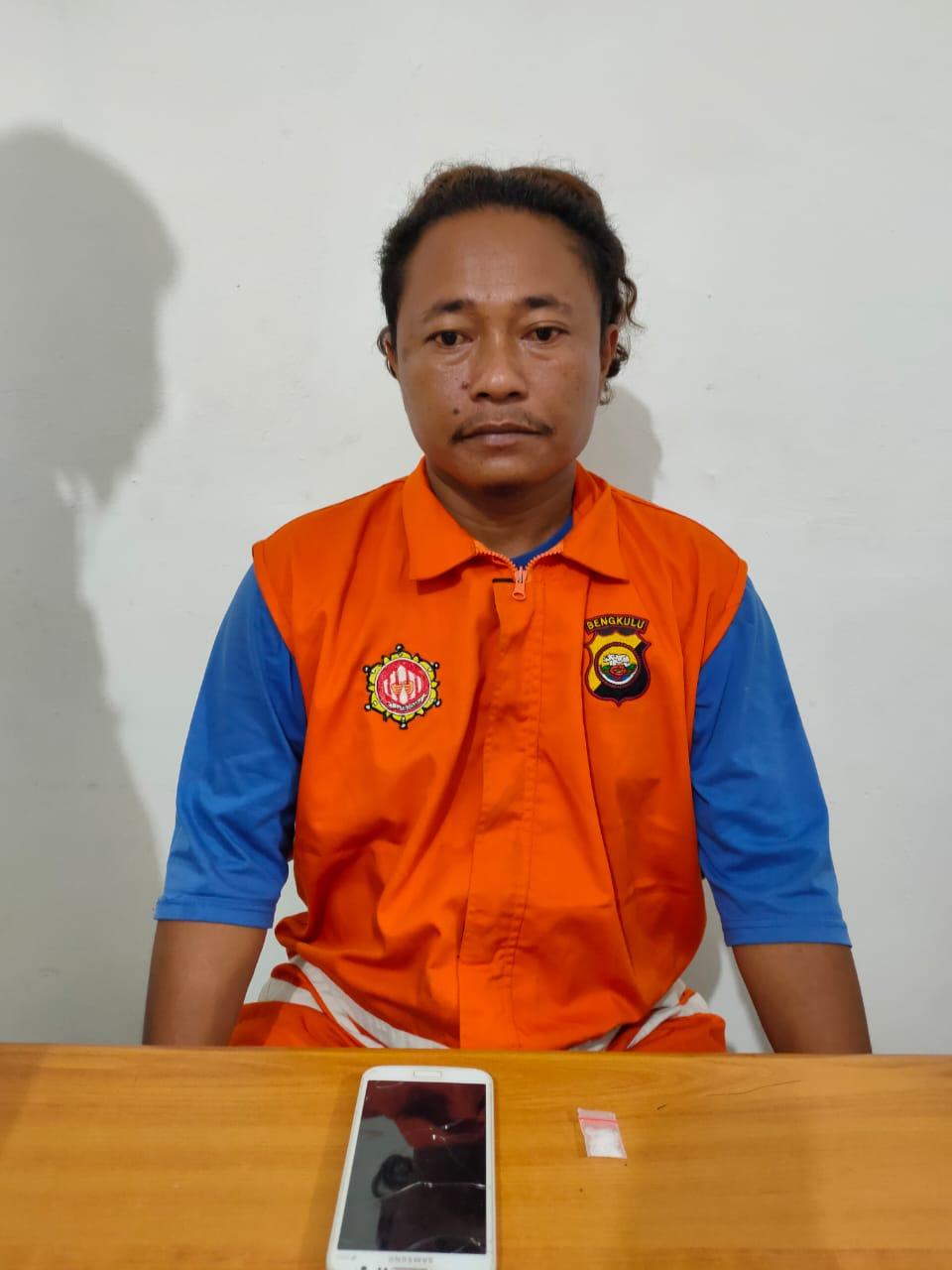 Ditresnarkoba Polda Bengkulu Tangkap Kurir Sabu