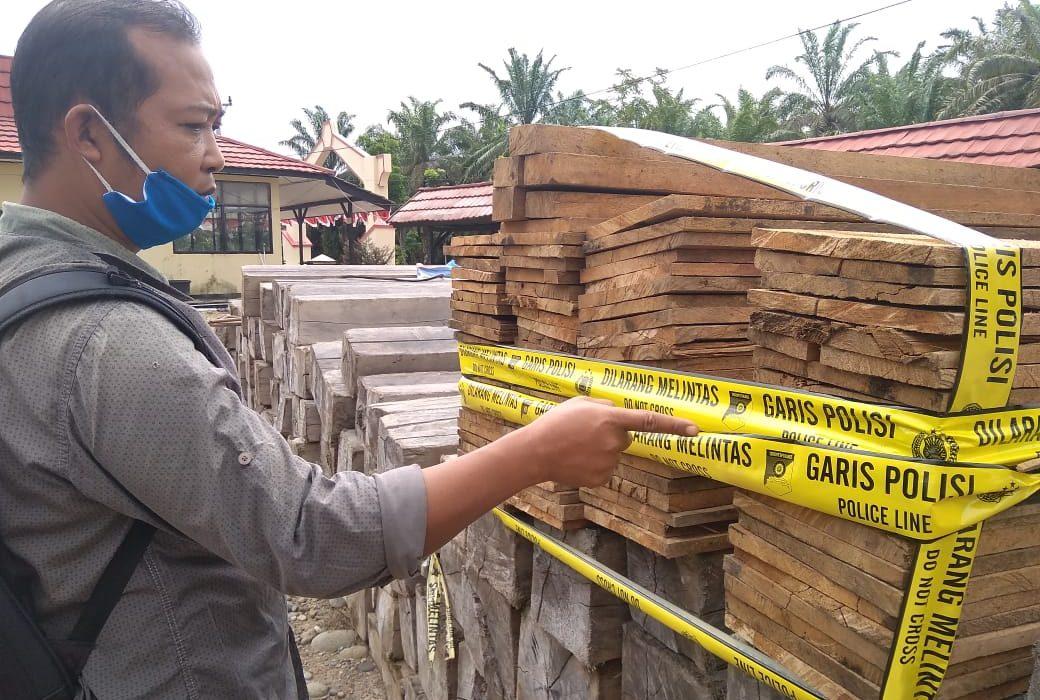 Kapolres MM Tegaskan Akan Buru Aktor Utama Illegal Loging