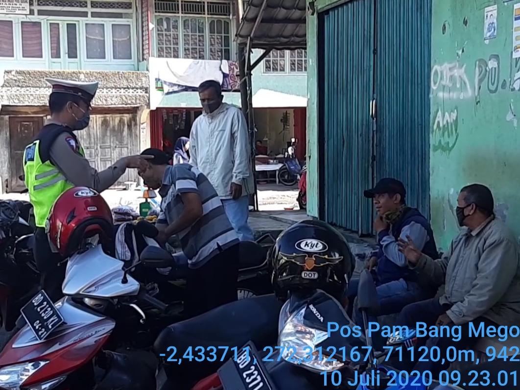 Tingkatkan Kedisplinan Masyarakat, Satgas Rejang Lebong Gelar Patroli Disertai Penyampaian Himbauan