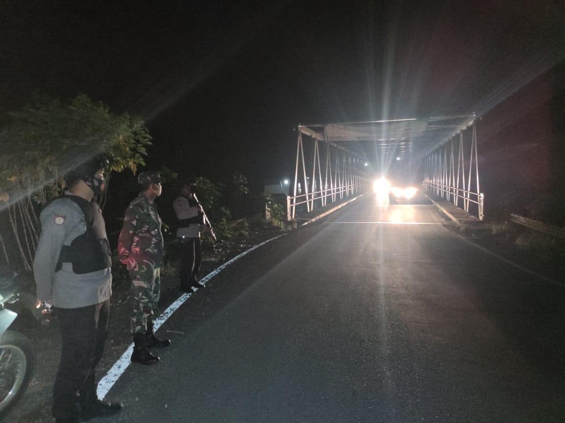 Tingkatkan Keamanan, Polres Rejang Lebong Gelar Patroli Gabungan TNI/POLRI
