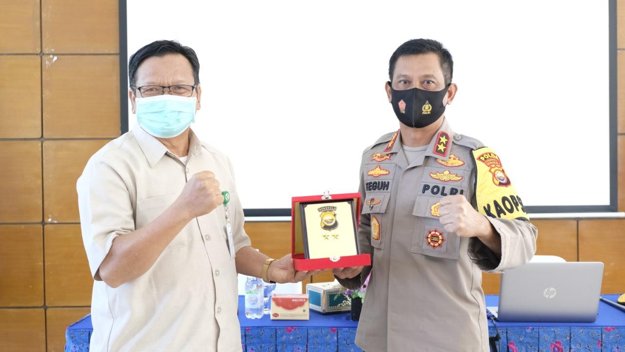 Jalin Silaturahmi, Kapolda Bengkulu Kunjungi Poltekkes Kemenkes