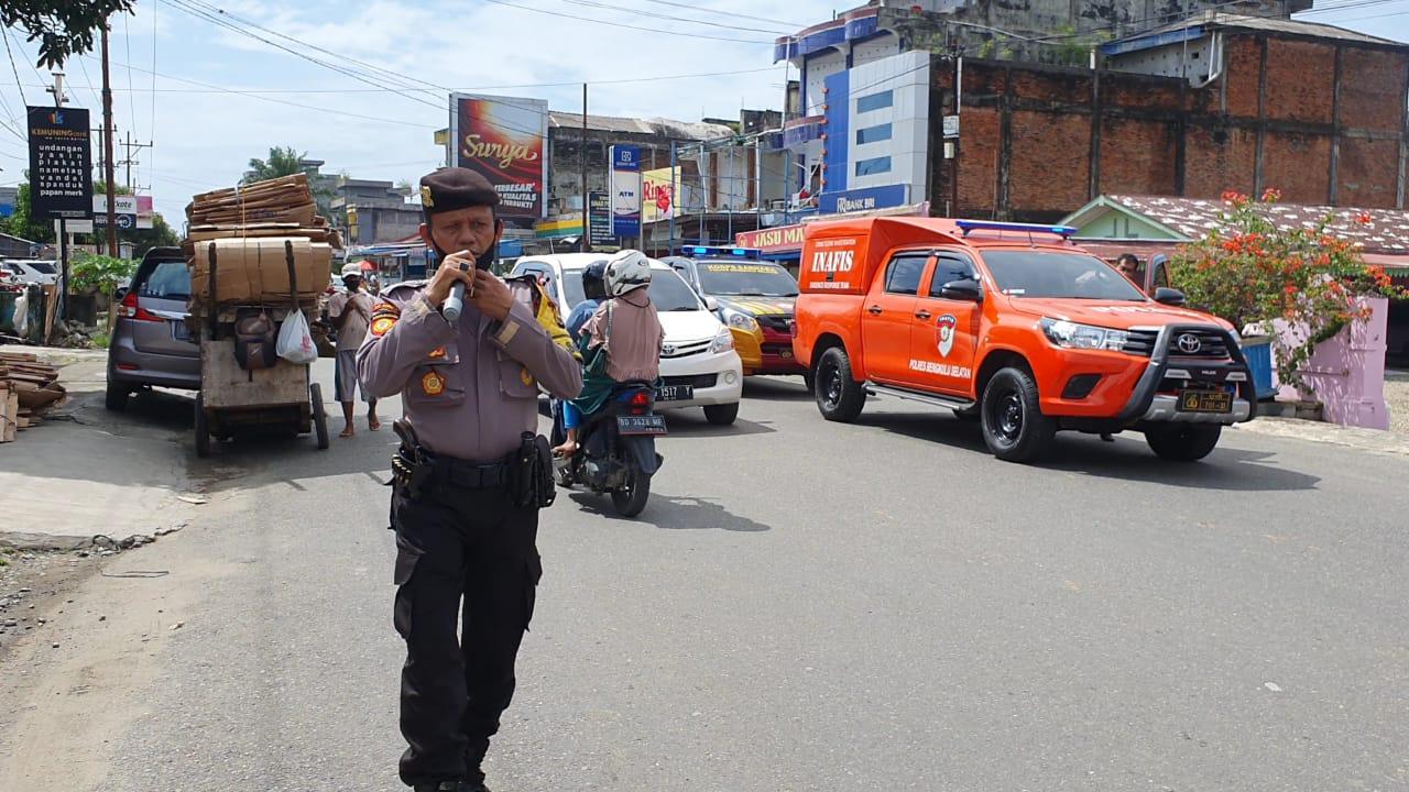 Ops Yustisi Jajaran Polda Bengkulu, Keluarkan 189 Teguran