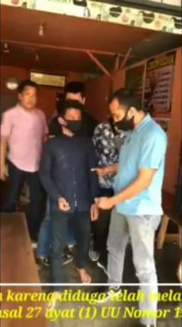 Sebar Video Porno, Pemuda Lubuk Cabau Ditangkap Polres MM