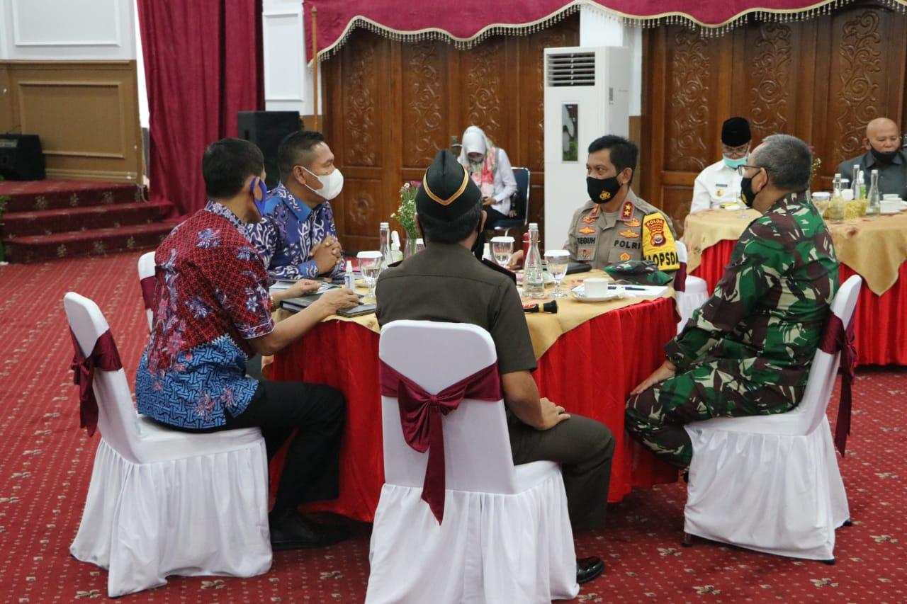 Coffee Morning Bersama Plt.Gubernur Bengkulu dan FKPD, Kapolda Dorong Bentuk Perda Menggantikan Pergub Bengkulu No.22 Tahun 2020