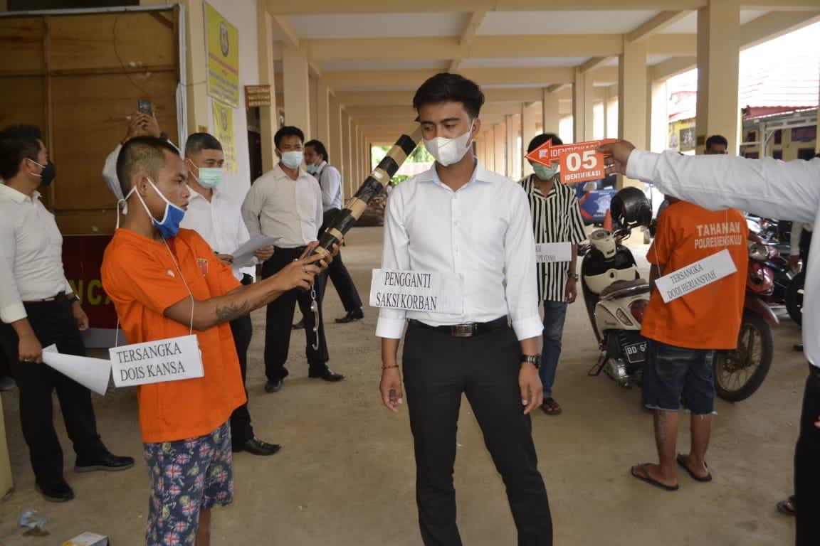 Dihadiri Jaksa dan Pengacara, Polres Bengkulu Gelar Rekonstruksi Kasus Pembunuhan