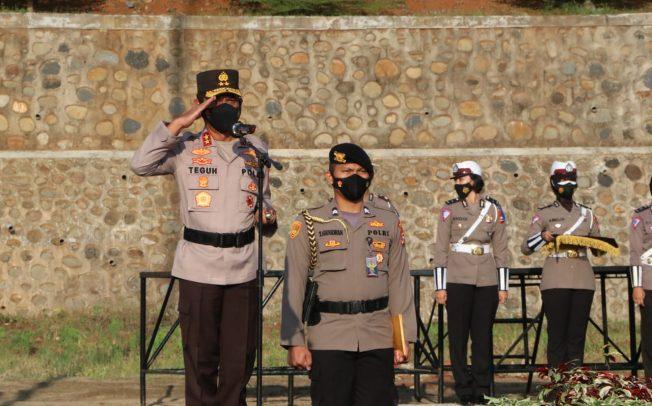"""Kapolda Bengkulu, Wakapolda dan PJU """"Nyebar"""" Cek Pos Penyekatan di Perbatasan"""