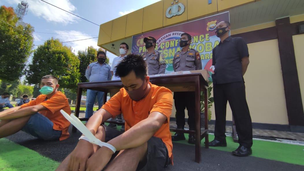 Bawa Sabu, Warga Ulok Kupai Ditangkap Polisi