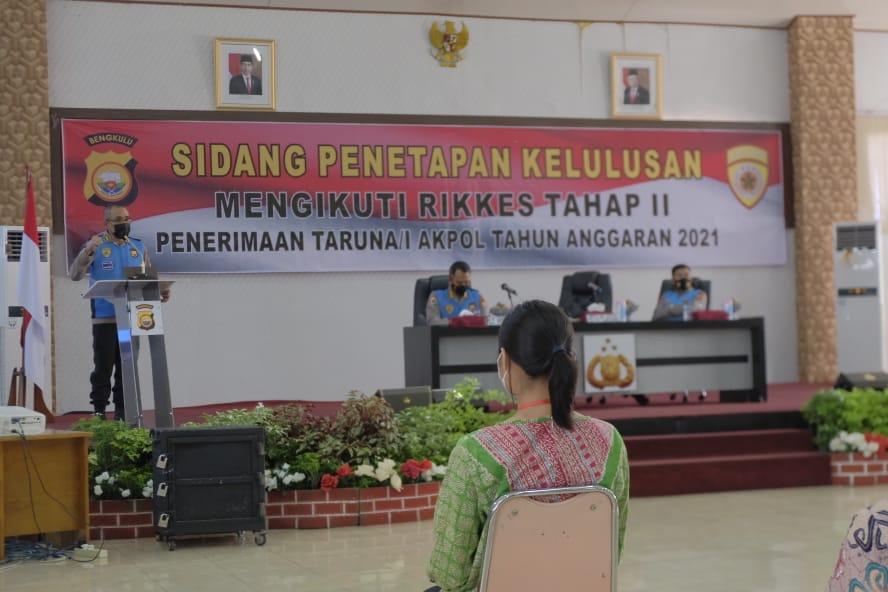 14 Casis Akpol Polda Bengkulu Lolos ke Tahap Rikkes II