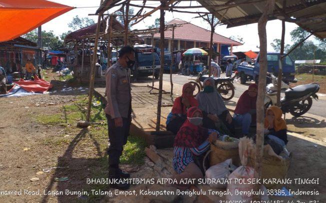 Harkamtibmas, Polres Benteng Gelar Sambang Pasar