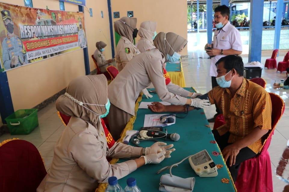 Permintaan Vaksin Terus Berdatangan, Sekarang Giliran SMAN 5 Kota Bengkulu