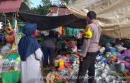 Himbau Prokes, Polres Benteng Binluh Kawasan Pasar