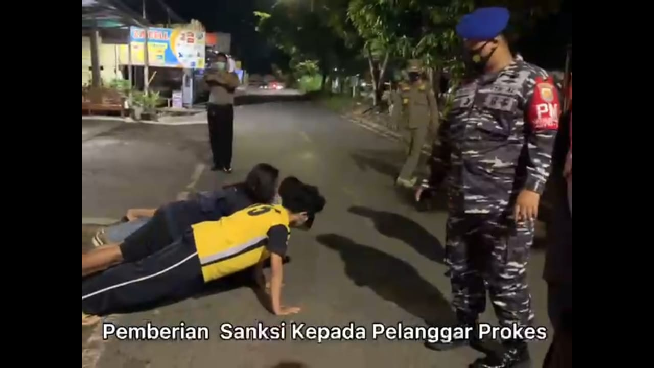 Pendisiplinan Prokes, Satgas Pam Gakkum Provinsi Bengkulu Gelar Patroli