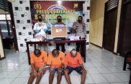 Press Conference, Polres BU Release Keberhasilan Ungkap 3 Perkara Narkoba