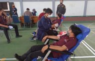 Meriahkan Hari Bahkti Adhyaksa, Polres RL Libatkan Anggota Donor Darah