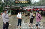 Banjir, Polsek Penarik Raya Gerak Cepat Bantu Warganya