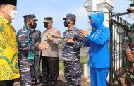 Kapolda Bengkulu Sambut Kedatangan  Pangkoarmada I Laksda TNI ArsyadAbdullah di Bumi Rafflesia