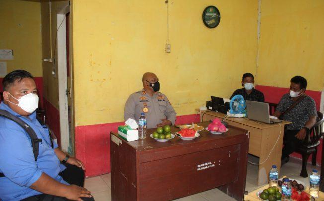 Jalin Silaturahmi, Kapolres Mukomuko Kunjungi Sekretariat Media Ambo dan JMSI