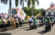 Gubernur Bersama Kapolda Bengkulu Tinjau Vaksinasi dan Bhakti Sosial Alumni Akpol 1997