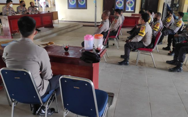 Binkatpuan Bhabinkamtibmas, Dit Binmas Polda Bengkulu Asistensi ke Polres Benteng