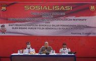 Tingkatkan Kemampuan Anggota, Bidkum Polda Bengkulu Gelar Penyuluhan di Polres Kepahiang