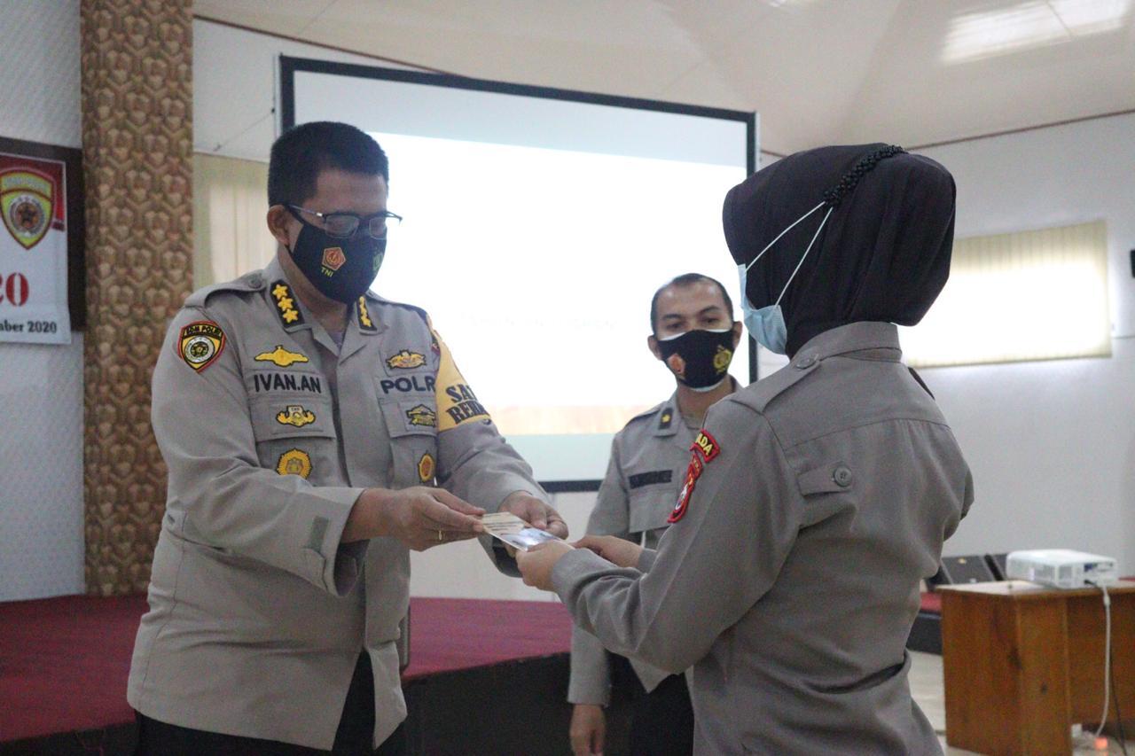 Biro SDM Polda Bengkulu Gelar Pelatihan Trauma Healing
