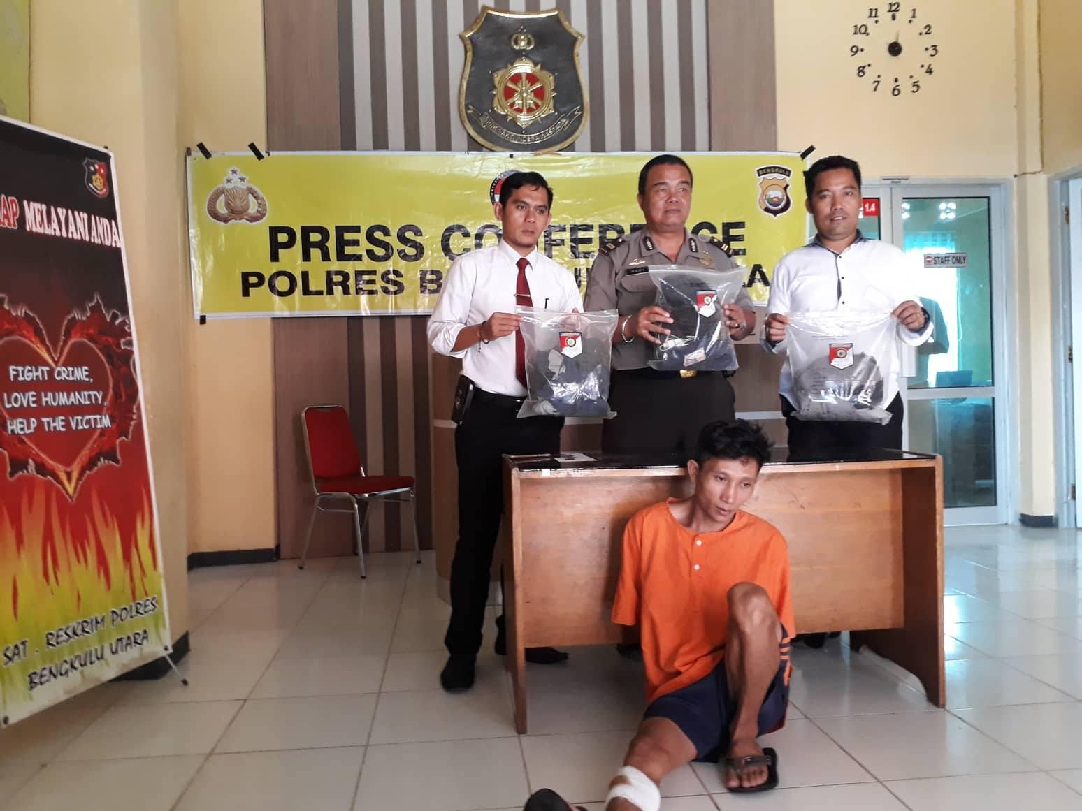 Bapak Bunuh Anak Umur 3 Bulan Diamankan Polres BU