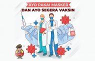 Ayo Pakai Masker dan Ayo Segera Vaksin
