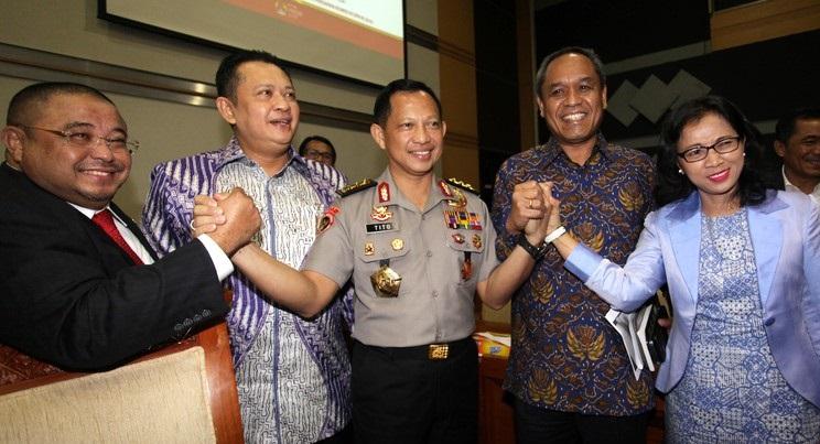 Komisi III Setuju Tito Jadi Kapolri
