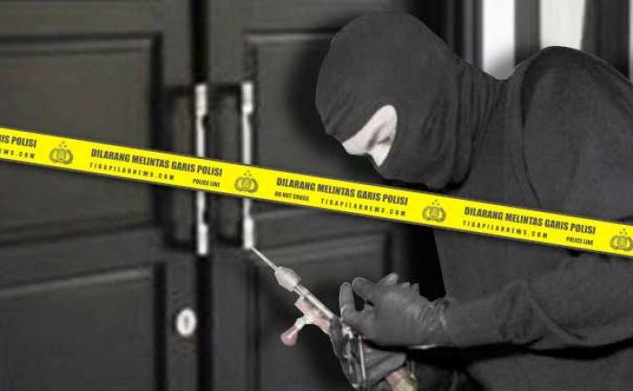 Kembali, Pembobol Rumah Ditangkap Polisi